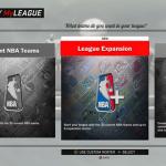 MyLEAGUE & MyGM, NBA 2K17's Franchise Modes