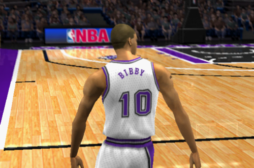 Mike Bibby in NBA Live 2002