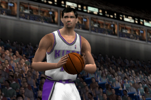 Peja Stojakovic in NBA Live 2002