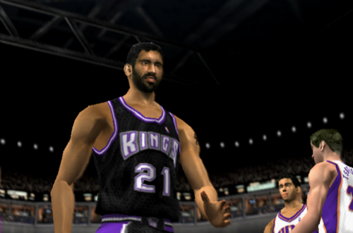 Vlade Divac in NBA Live 2002