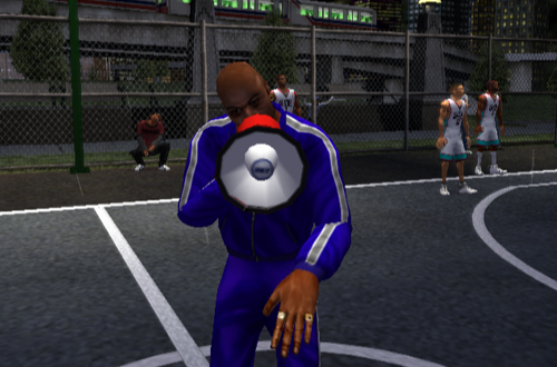"Joe ""The Show"" Jackson in NBA Street"