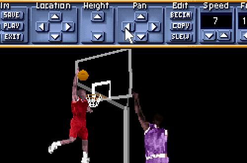 Editing a Replay in Michael Jordan in Flight