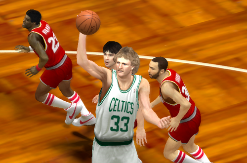 Larry Bird in the Ultimate Base Roster for NBA 2K14
