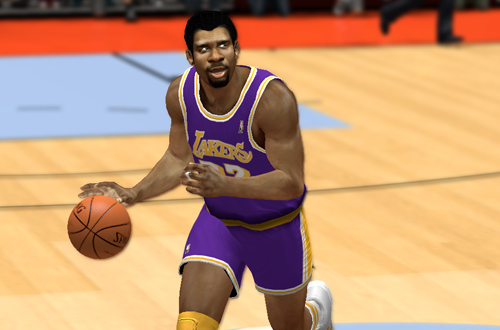 Magic Johnson in the Ultimate Base Roster for NBA 2K14