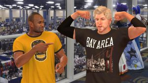 Comic Convention with Jackson Ellis in NBA 2K17's MyCAREER