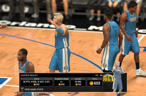 Virtual Currency Earnings in NBA 2K17's MyCAREER