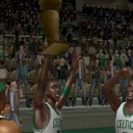 Boston Celtics Championship in NBA Live 08