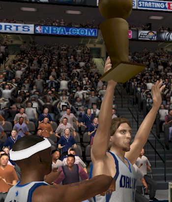 Los Angeles Lakers Championship in NBA Live 07