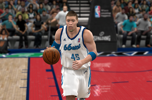 Playing in the D-League in NBA 2K10's My Player