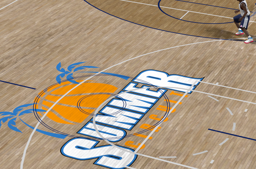 Summer Circuit Court in NBA 2K10's My Player