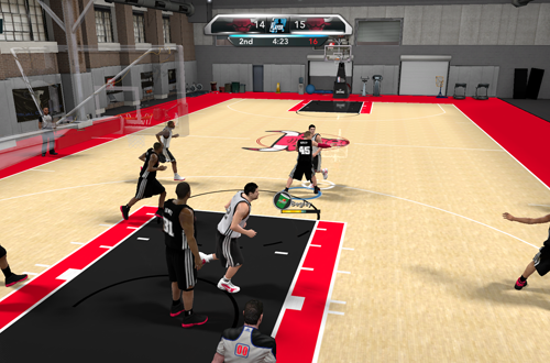 Training Camp in NBA 2K10's My Player
