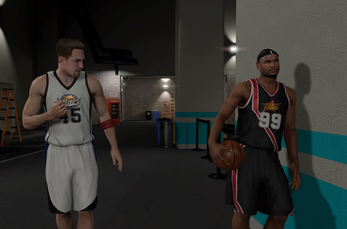 Jackson Ellis in NBA 2K14's MyCAREER