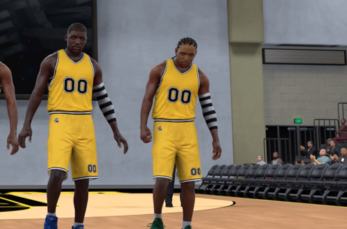 Generic Uniform & Court in NBA 2K17's 2K Pro-Am