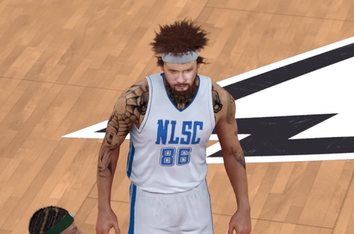 Kenny in NBA 2K17's 2K Pro-Am