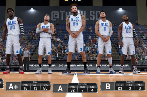 NLSC THRILLHO Post-Game in NBA 2K17's 2K Pro-Am
