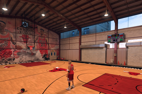 Chicago Bulls MyCOURT in NBA 2K17