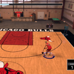 Shooting around on a Chicago Bulls MyCOURT in NBA 2K17