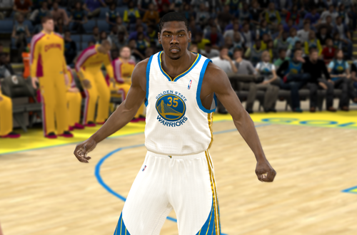 Kevin Durant on the Warriors in potential NLSC Roster Patches for NBA 2K11