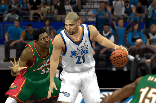 Tim Duncan on the 2001 Orlando Magic in NBA 2K14