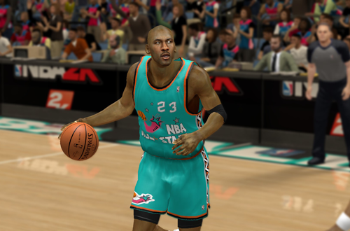 1996 All-Star Michael Jordan in NBA 2K14