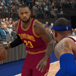 LeBron James vs. Carmelo Anthony in NBA 2K17