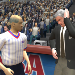 Phil Jackson in NBA Live 2003
