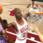Kevin Garnett on the Chicago Bulls in NBA Live 2004