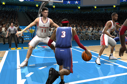 Allen Iverson in NBA Live 2005's All-Star Weekend Mode