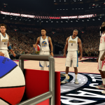 Three-Point Shootout Intro in NBA 2K17's MyCAREER