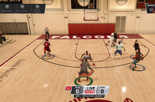 LIVE Pro-Am in NBA Live 16