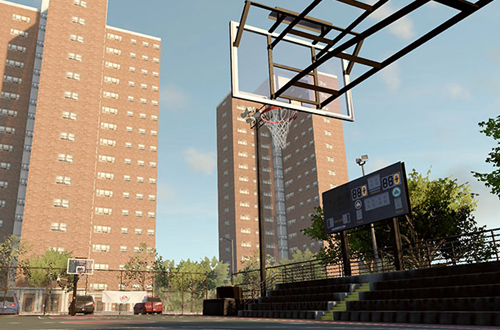 Rucker Park in NBA Live 16's LIVE Pro-Am