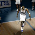 Michael Jordan Pre-Game in NBA Live 2002