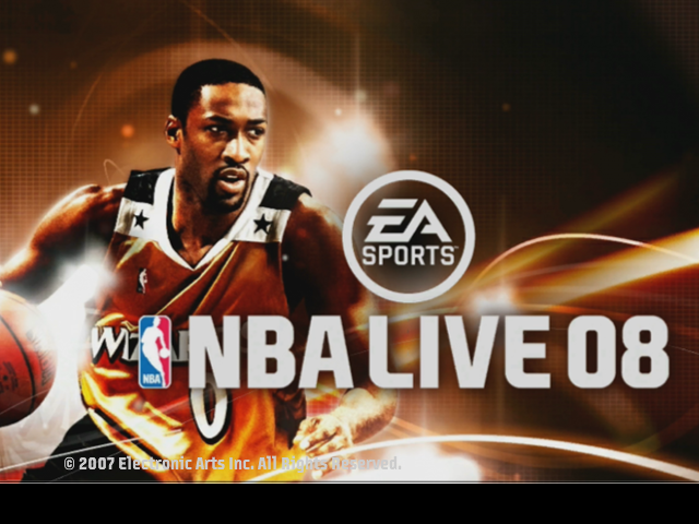 Next Gen Title Screen for NBA Live 08 PC 8c6248f5f