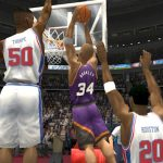 Charles Barkley in the 1996 Season Patch for NBA Live 2004