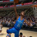 Kevin Durant in the NBA Live PC Mode for NBA Live 06