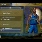 Edit Player Screen in the NBA Live PC Mode for NBA Live 06