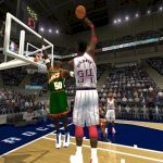 Hakeem Olajuwon in the 1996 Season Patch for NBA Live 2004