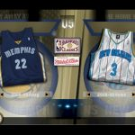 Jersey Select Screen in the NBA Live PC Mode for NBA Live 06