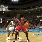 Michael Jordan in the 1996 Season Patch for NBA Live 2004