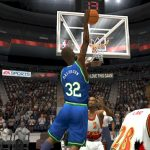 Jamal Mashburn in the 1996 Season Patch for NBA Live 2004