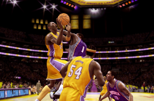 Kobe Bryant in NBA Live 08