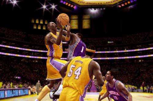 Kobe Bryant in NBA Live 08