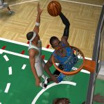 Dwight Howard in the NBA Live PC Mode for NBA Live 06