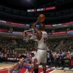 Michael Jordan in the NBA Live PC Mode for NBA Live 06