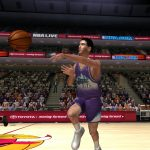 John Stockton in the NBA Live PC Mode for NBA Live 06