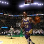 Magic Johnson in the NBA Live PC Mode for NBA Live 06