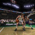 Magic Johnson vs. Larry Bird in the NBA Live PC Mode for NBA Live 06