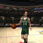 Bob Cousy in the NBA Live PC Mode for NBA Live 06