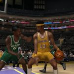 Wilt Chamberlain vs. Bill Russell in the NBA Live PC Mode for NBA Live 06