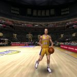 Jerry West in the NBA Live PC Mode for NBA Live 06
